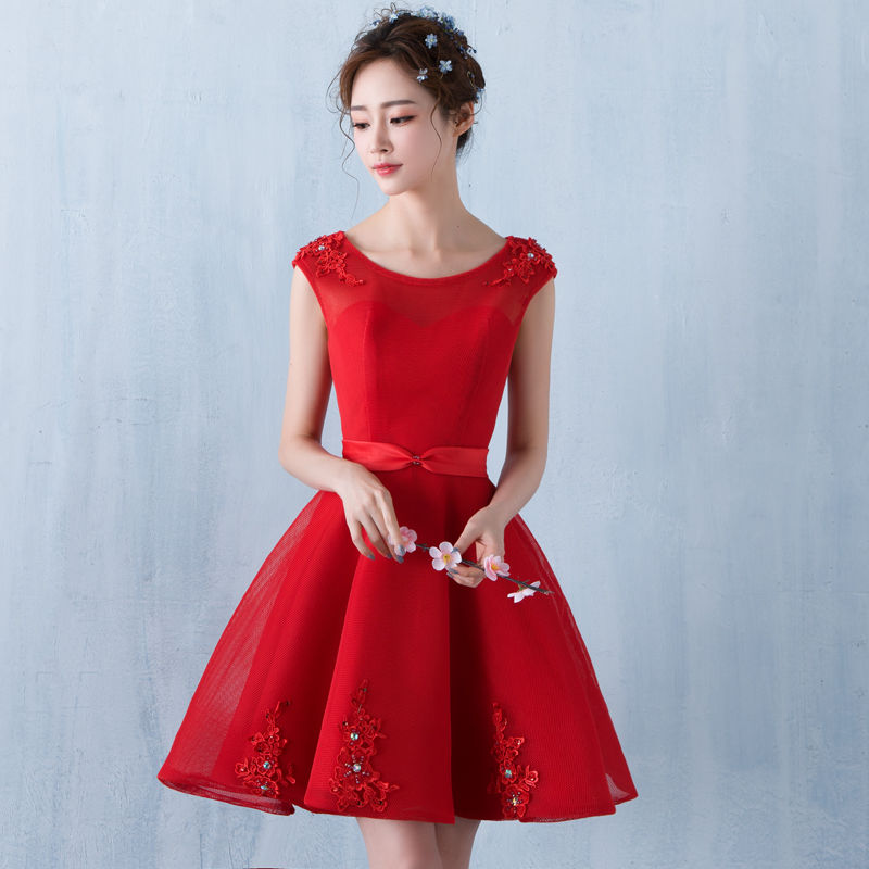Plus size red party dress - Dressed for less