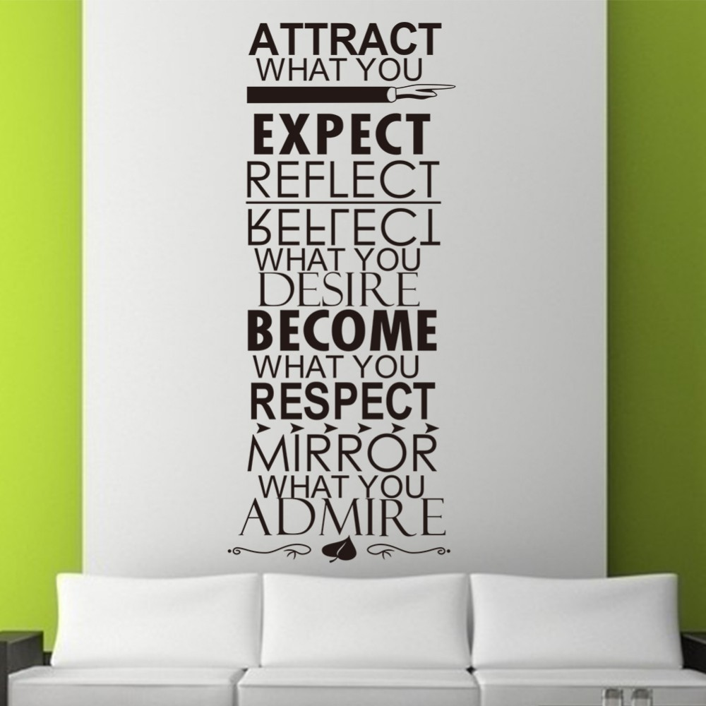 online get cheap family wall art aliexpress com alibaba group hot attract expect refelect vinyl wall stickers quotes living room bderoom family indoor wall art