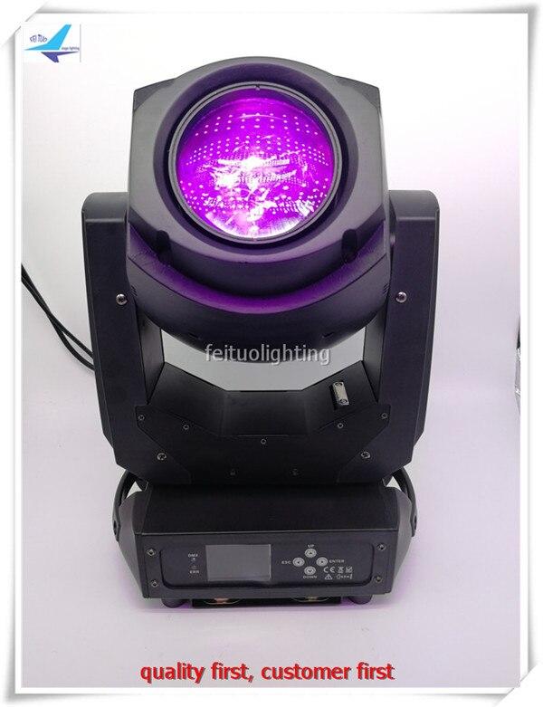 2pcs + Flight Case New Lumiere Disco Light 200 W Spot Led Moving Head Lyre Beam Cabeza Movil Led Dmx Dj Party Show Stage Light