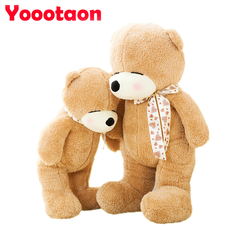 Kawaii 40cm New Teddy bear with scarves for baby girls gifts Soft Plush bear toys Stuffed Animals dolls kawaii baby dolls