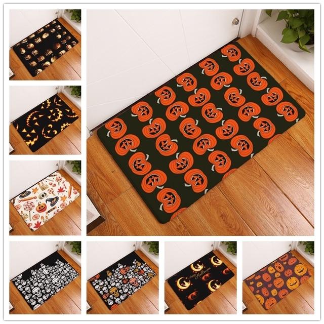 new anti slip carpets halloween print mats bathroom floor kitchen rugs 40x60 50x80cm