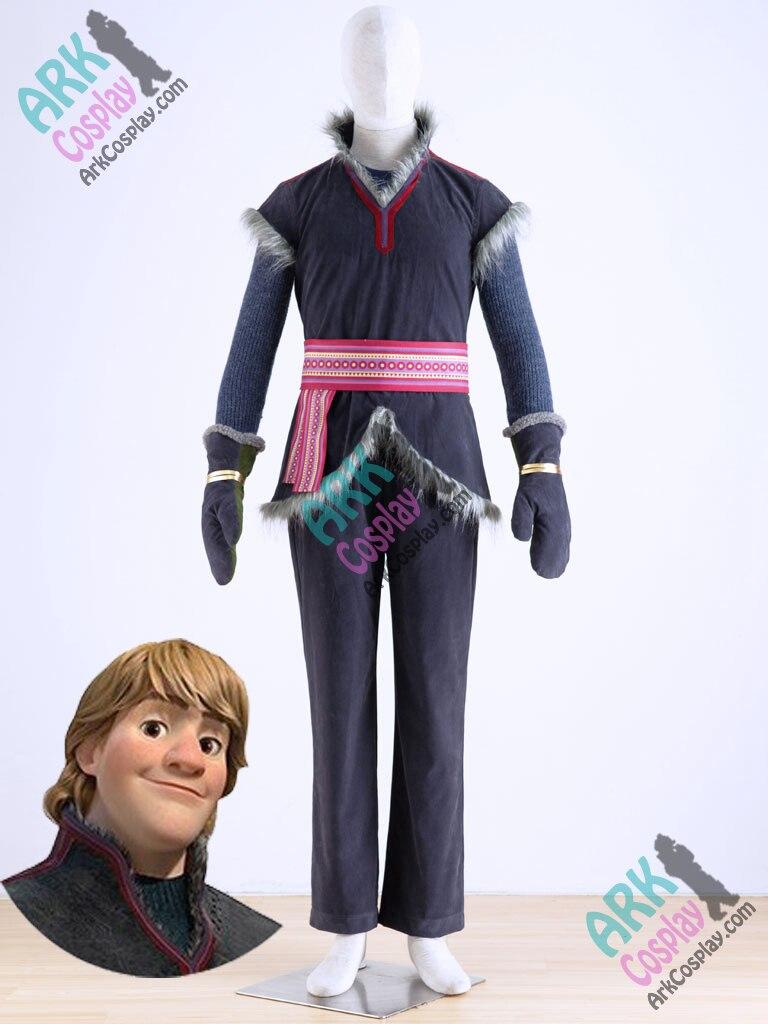 Kristoff Costume - Adult kristoff Costume Mens Kristoff Cosplay Costume