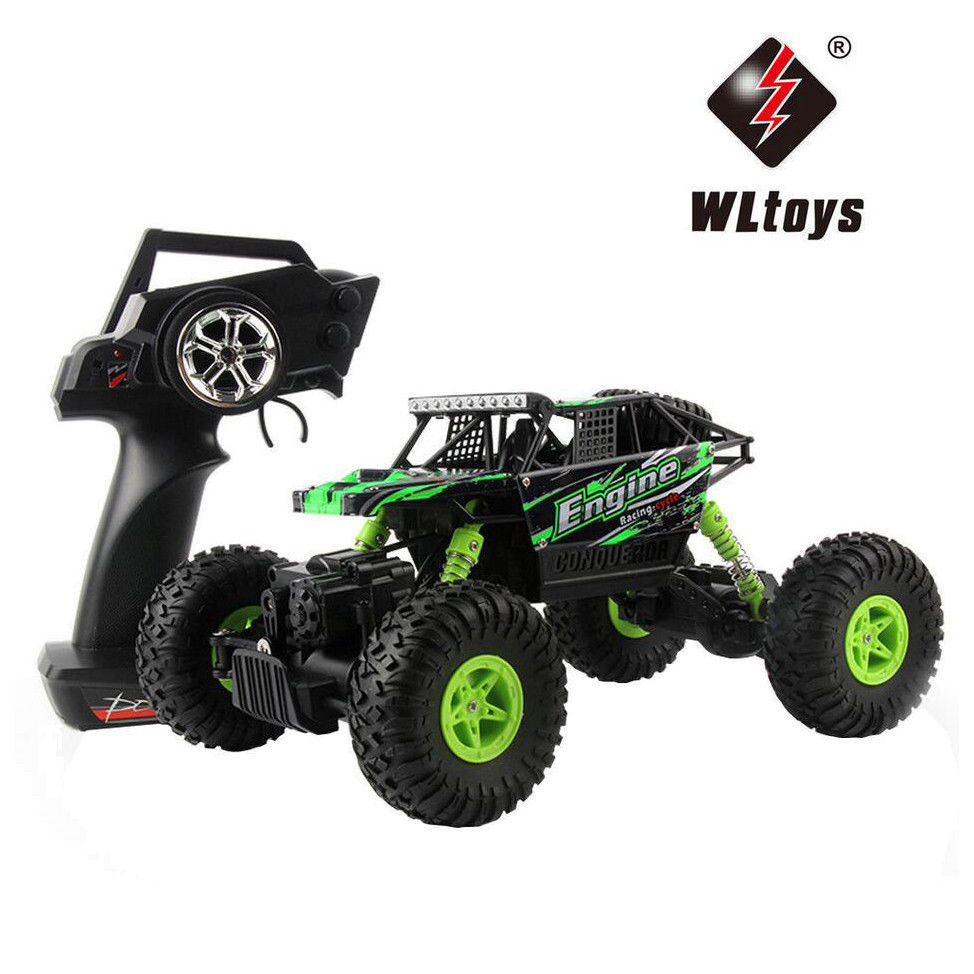 Wltoys 18428-B 1:18 Scale RC Car 4WD RC Buggy RTR Climber Car Off-road Remote Control Car Radio Control Great Power RC Crawler hongnor ofna x3e rtr 1 8 scale rc dune buggy cars electric off road w tenshock motor free shipping