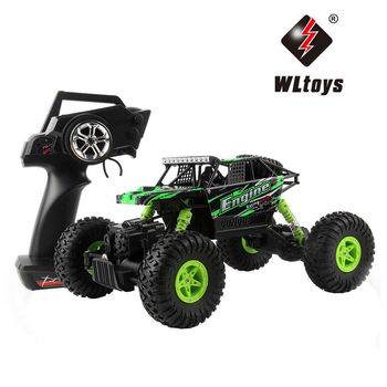 Wltoys 18428-B 1:18 Scale RC Car 4WD RC Buggy RTR Climber Car Off-road Remote Control Car Radio Control Great Power RC Crawler цена 2017