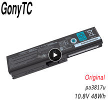 Batteria originale del computer portatile PA3817U per TOSHIBA L630 L650 L645 L655 L600 L700 L730 L735 L740 L745 L750 L755 PA3817U 1BRS PABAS228