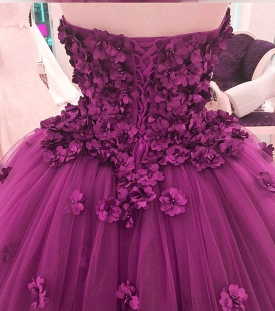 Romantic Wine Red Wedding Dresses Pretty 3d Flower Puffy Tutu Bridal Gowns Pearls Ball Gowns Lace Up Plus Size Robe De Mariee September 2020,Most Iconic Wedding Dresses