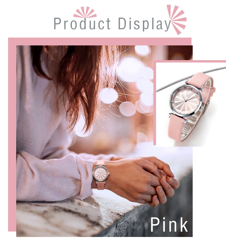 SK Luxury Brand Leather Ladies Wrist Watches Women Prism Quartz Watch For SHENGKE Female Clock reloj mujer 2019 relogio feminino (3)