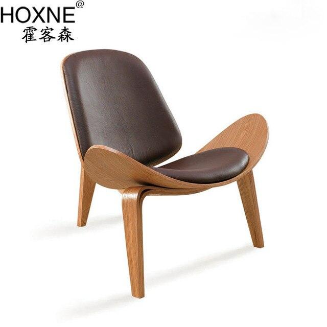 Huo Off Carl Hansen Son Sen Danmai CH07 Aircraft Tripod Chair Bentwood  Chair Bending Wood Chair