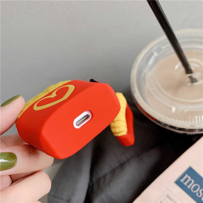 TPU silikonowa bezprzewodowa Bluetooth etui na słuchawki dla AirPods1 2 pokrywa ochronna skóry akcesoria dla Apple Airpods 3 okno ładowania