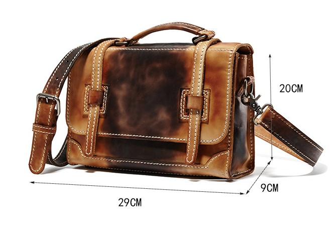 ROWLING font b Men b font Briefcases Classic Leather Designer Handbag Shoulder font b Bag b
