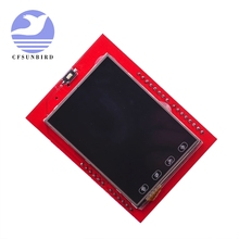 2.4 인치 TFT LCD 터치 스크린 쉴드 Arduino UNO R3 Mega2560 LCD 모듈 18 비트 262,000 다른 음영 디스플레이 보드 9341