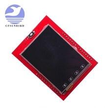 2.4 inç TFT LCD dokunmatik ekran kalkanı Arduino UNO için R3 Mega2560 LCD modülü 18 bit 262,000 farklı tonları ekran kartı 9341