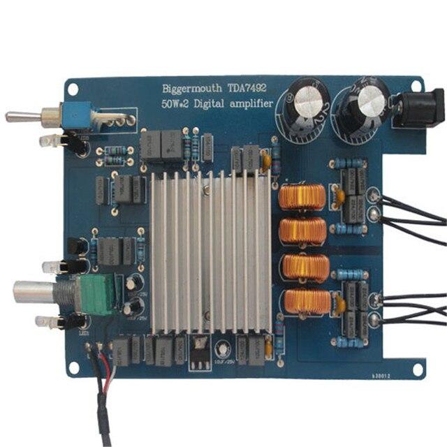 TDA7492 50W*2 HIFI digital power amplifier board 2 stereo amplifier
