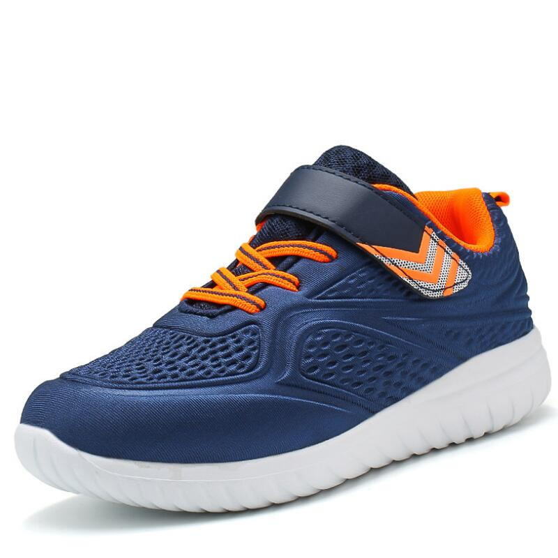 HOBIBEAR Mesh Sneakers Kids Breathable Air Mesh Tenis Infantil Children Sport Shoes Boys Running Casual Shoes For Girls Sneakers