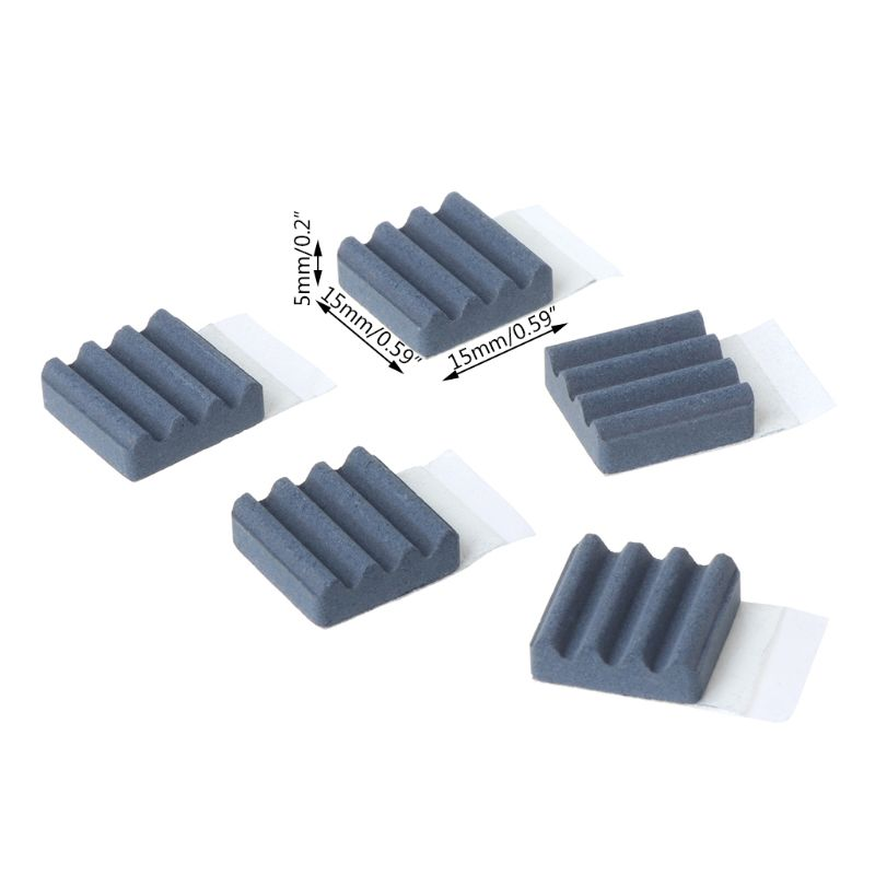 5pcs Mini Brushless DC Cooling Fan 25x25x7mm 25mm 2507 5V 0.10A 7 blades 2pin US