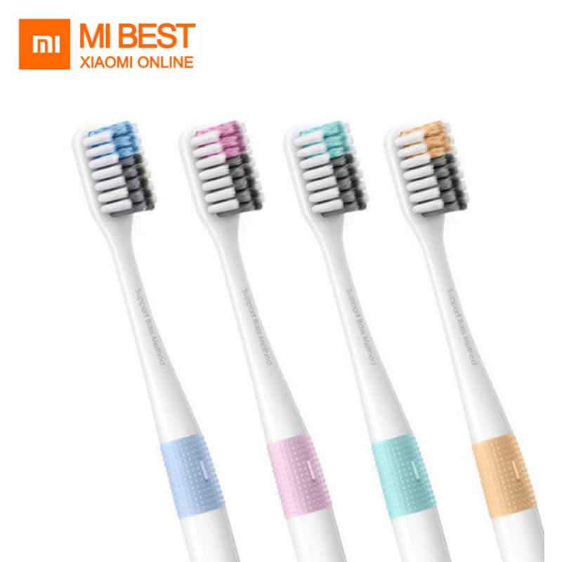 Original Xiaomi DOCTOR B Toothbrushs Mi Home 4 Color In 1 Kit Deep Cleaning Included Soft-bristle For Smart Home