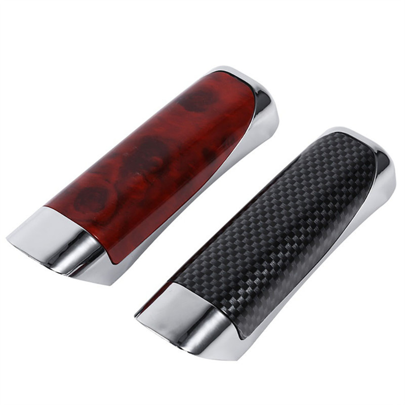 Car-Hand-Brake Cover Protector Decor Suv-Accessory Universal ABS Carbon-Fiber-Style Smooth