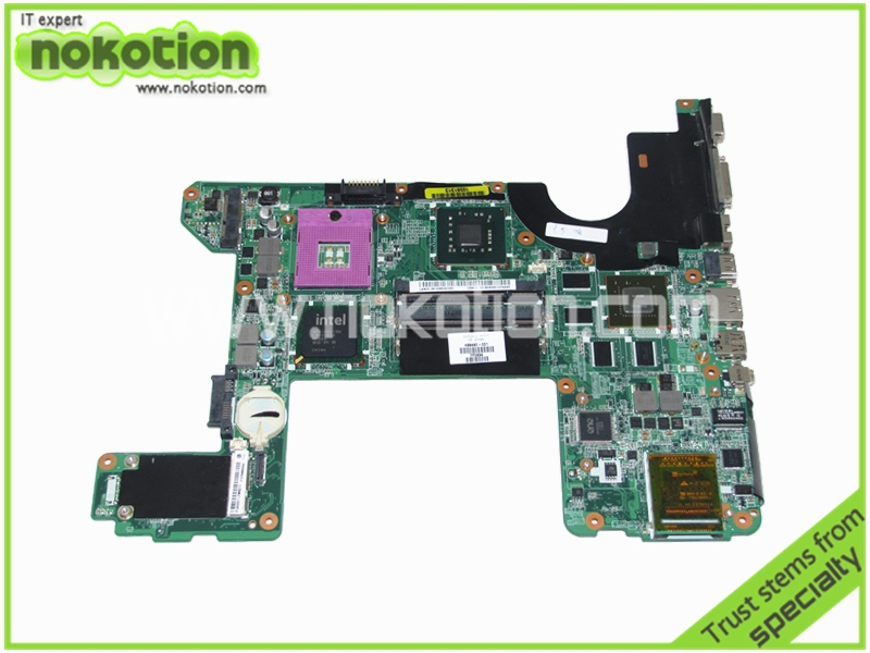 NOKOTION 496460-001 DA0UT6MB8F0 Laptop Motherboard for HP HDX16 Nvidia GeForce 9600M REV F PM45 DDR2 Mainboard full tested nokotion 646176 001 laptop motherboard for hp cq43 intel hm55 ati hd 6370 ddr3 mainboard full tested