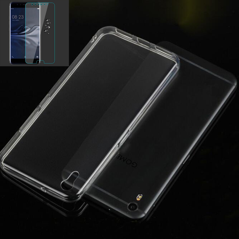For Original GOME K1 4G Cover Case For GOME K1 Case With Tempered Glass For GOME K1 Cover
