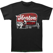 Short Sleeve Tshirt Fashion Reverend Horton Heat Men Trailer T-shirt Black(China)