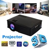 HDMI VGA WIFI USB WIFI Projector Premium Durable Video Projector LED Projector Home Cinema Courtyard Teaching