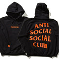 2017 Streetwear Anti Social Social Club hoodies Paranoid Anti Social Club Undefeated men Women Hoodies sweatshirt ASSC Pullover