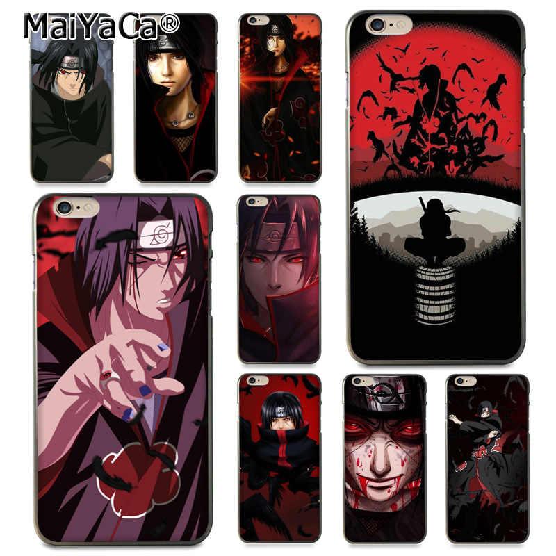 MaiYaCa For iphone 7 6 X Naruto Shippuden Uchiha Itachi Coque ...