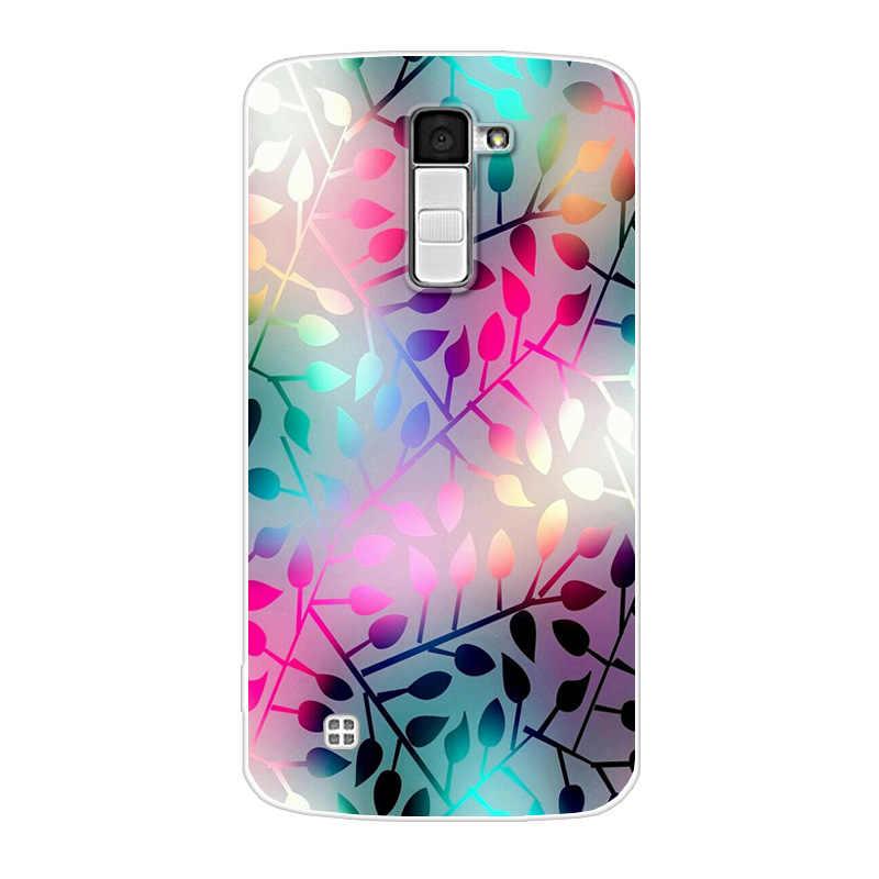 3D רך צבע מקרה עבור LG K10 Lte K 10 K420N M2 K410 K430DS F670 כפולה מקרה כריכה אחורית עבור LG K10 סיליקון כיסוי חזרה תיק