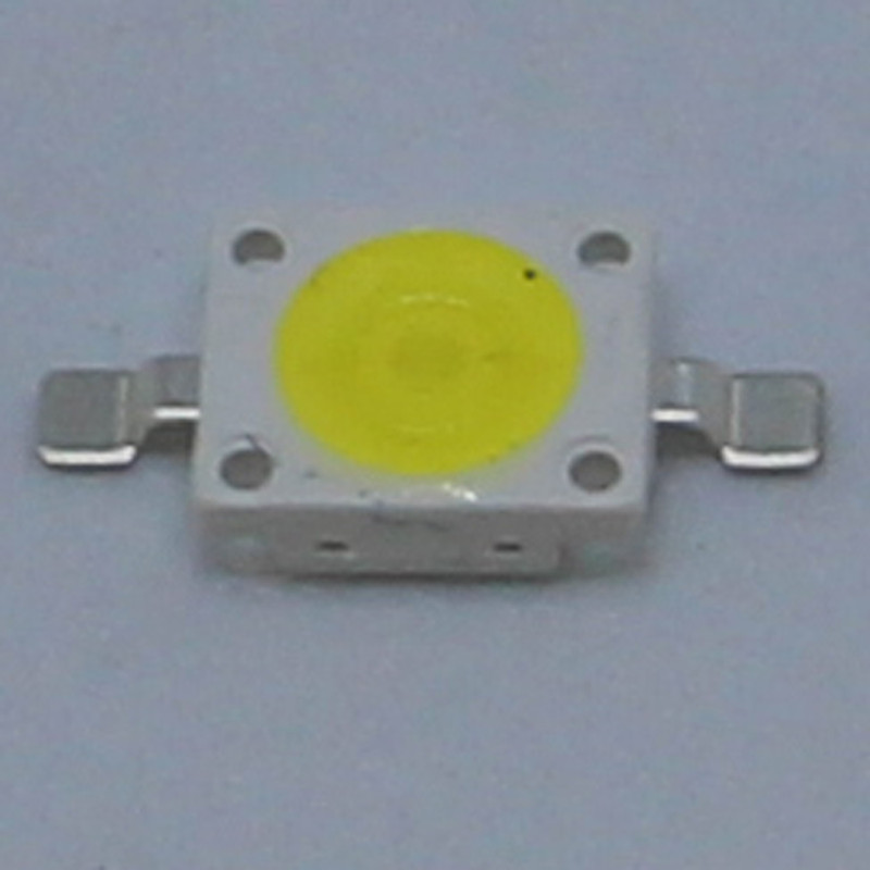 100PCS Imitation of Osram High power SMD LED 6070 6000 6500K white light 1W 3W lighting