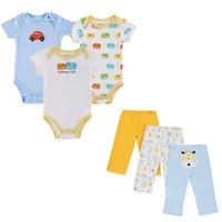 2016 Similar Cartes Summer Style Infant Clothes Baby Clothing Sets Boy Cotton Cartoon Short Sleeve 3