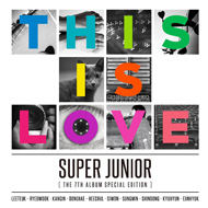 SUPER JUNIOR 7TH ALBUM - SPECIAL EDITION - THIS IS LOVE RANDOM COVER Release Date 2014-10-27 KPOP super junior kyuhyun 1st mini album at gwanghwamun release date 2014 11 13 kpop