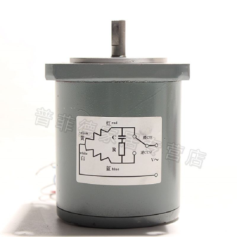 16W Permanent Magnet Low Speed Synchronous <font><b>Motor</b></font>, AC <font><b>220V</b></font> AC <font><b>Motor</b></font>, 55TDY4/55TDY115 60RPM/115RPM, Torque 0.3N.M image