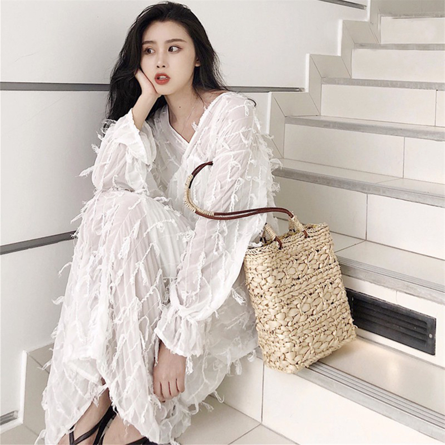 Straw Bags For Women Handmade Woven Beach Bags Bohemian Rattan Basket Flowers Women Handbags Fashion Box Bags Summer New 2018 women bohemian straw bags ladies small beach weave handbag tote handmade summer wicker basket ribbons rattan holiday travel ins