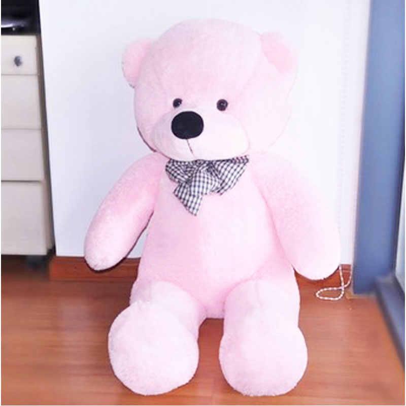 90 cm Alta Qualidade Enorme Soft 100% Algodão Toy Melhor Para As Crianças de pelúcia Gigante Grande Bonito Plush Stuffed Teddy Bear Natal festival de Presente #53446