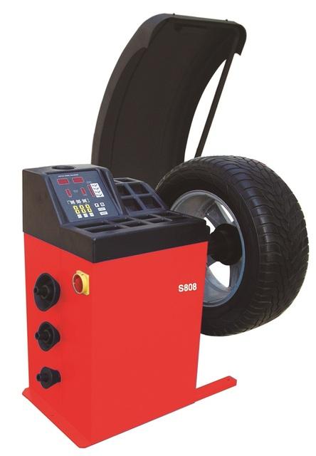 Automático Máquina De Balanceamento de Pneus Roda Pneu Balancer AOS642