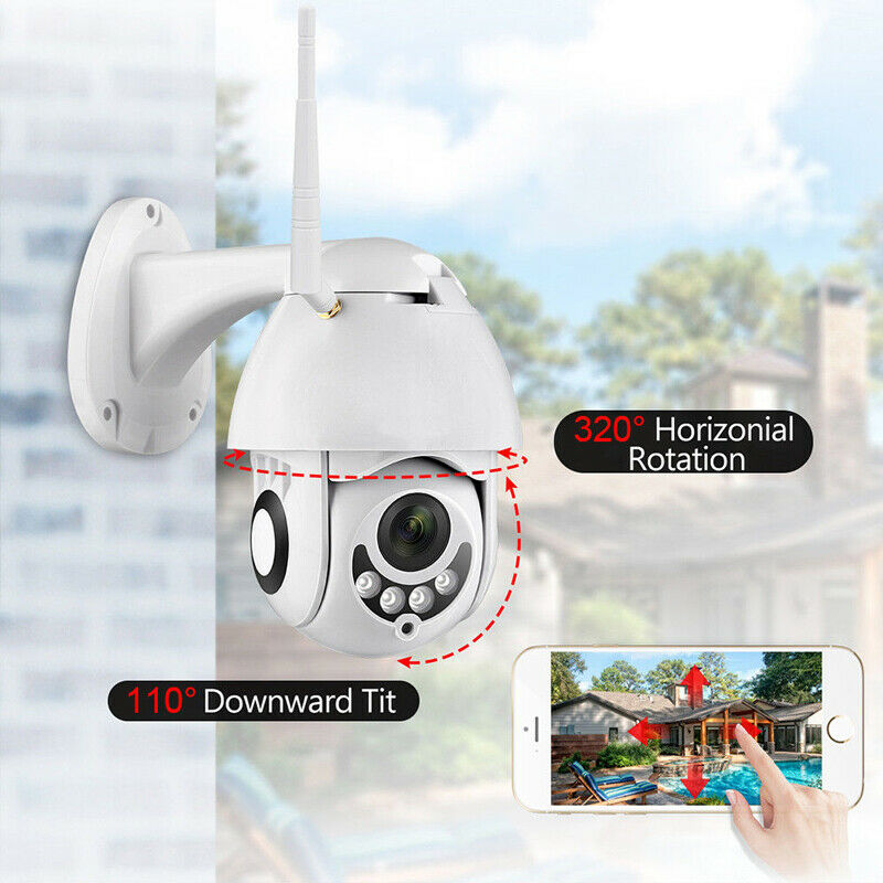 WIFI Camera Outdoor Full HD 1080P WiFi IP Camera Wireless Wired PTZ Speed Dome CCTV Security Camera App ICSee Home SurveilanceWIFI Camera Outdoor Full HD 1080P WiFi IP Camera Wireless Wired PTZ Speed Dome CCTV Security Camera App ICSee Home Surveilance