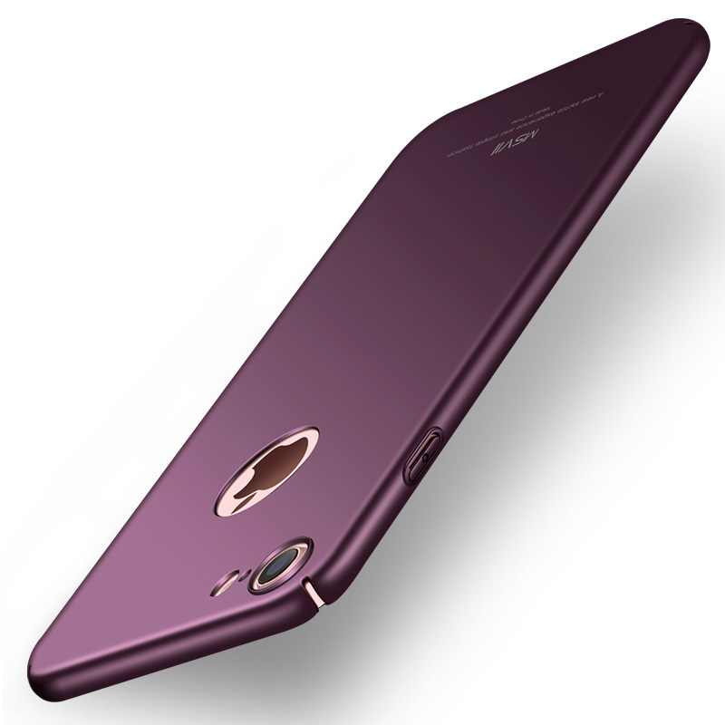 Original MSVII För iPhone 7 Fodral För iPhone 7 Plus Skydd Lyx Smal - Reservdelar och tillbehör för mobiltelefoner