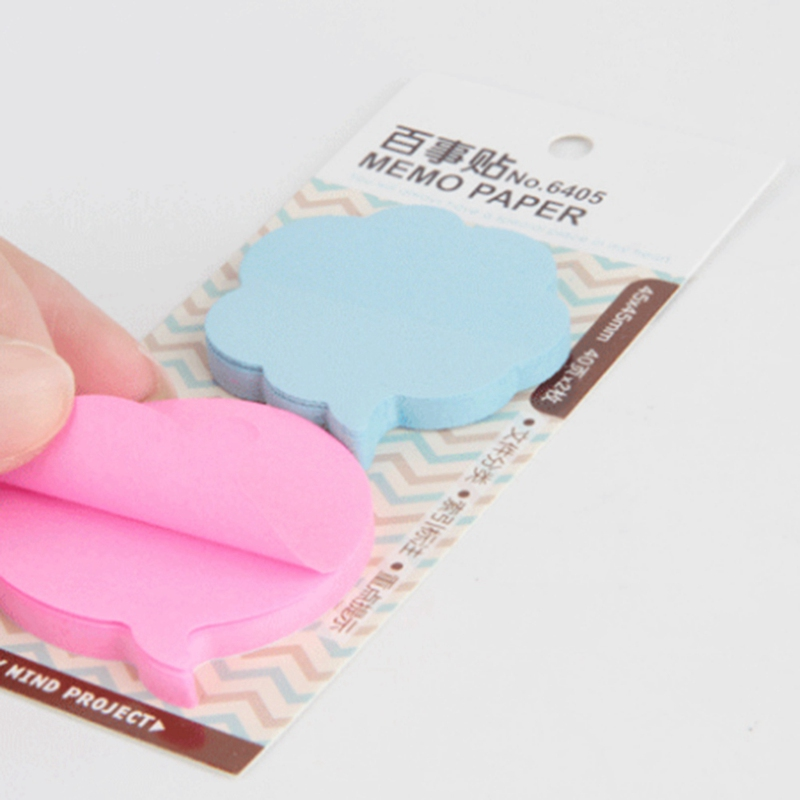 1 Set Useful Korean Sticky Notes Creative Post Notepad Memo Pads Office Supplies School Stationery Random Delivery