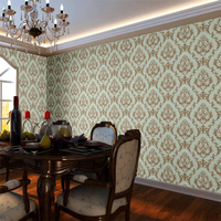 Beibehang High end luxury Damascus wallpaper stereo living room TV background wallpaper bedroom dining room walkway wallpaper