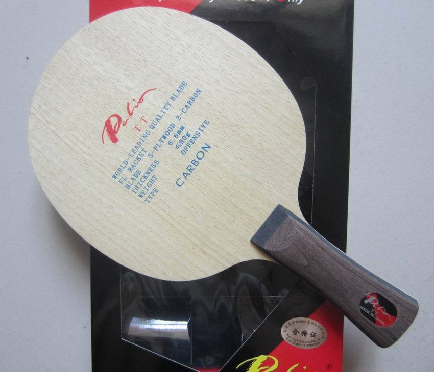 Free Shipping Palio TT 5wood+2carbon Table Tennis Blade For Fast Attack With Loop Best Sales For Palio TT Series