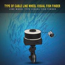 Новейший линейный тип колеса визуальный рыбопоисковый прибор X5 30 м Wifi подводная рыболовная камера видео рыболокатор с 6 шт. светодиодный ночное видение