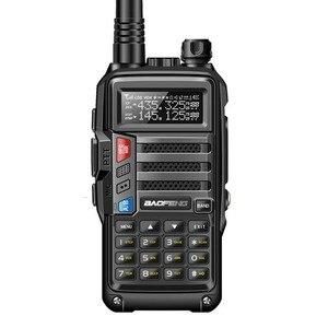 "Image 2 - 2020 BaoFeng UV S9 עוצמה ווקי טוקי CB רדיו משדר 8W 10 ק""מ ארוך טווח נייד רדיו עבור ציד יער עיר שדרוג 5r"