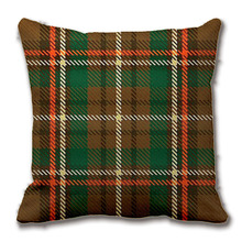 Williams Tartan Throw Pillow Case Decorative Cushion Cover Pillowcase Customize Gift High Quility By Lvsure For