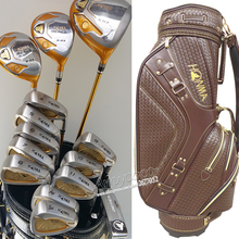 Nya golfklubbar Honma s-03 4 stjärniga komplett klubbar set Drive + fairway wood + strykjärn + putter + väska Graphite shaft headcover Gratis frakt