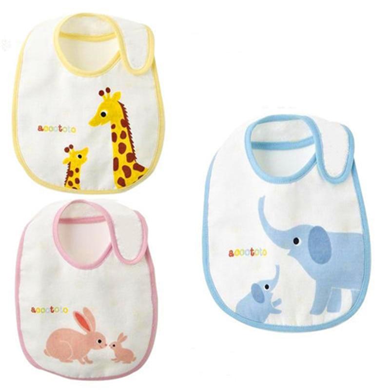 3pcs/lot Small waterproof bib baby bibs bibs magic buckle small baby bib C-XBK-KSJ020-3