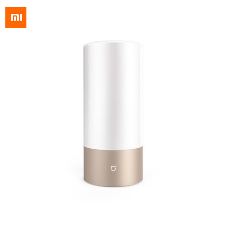 Original Smart Xiaomi Mijia Bedside Lamp Bluetooth WiFI LED Light Touchlight RGBW Touch Control for Smart Phone App Control