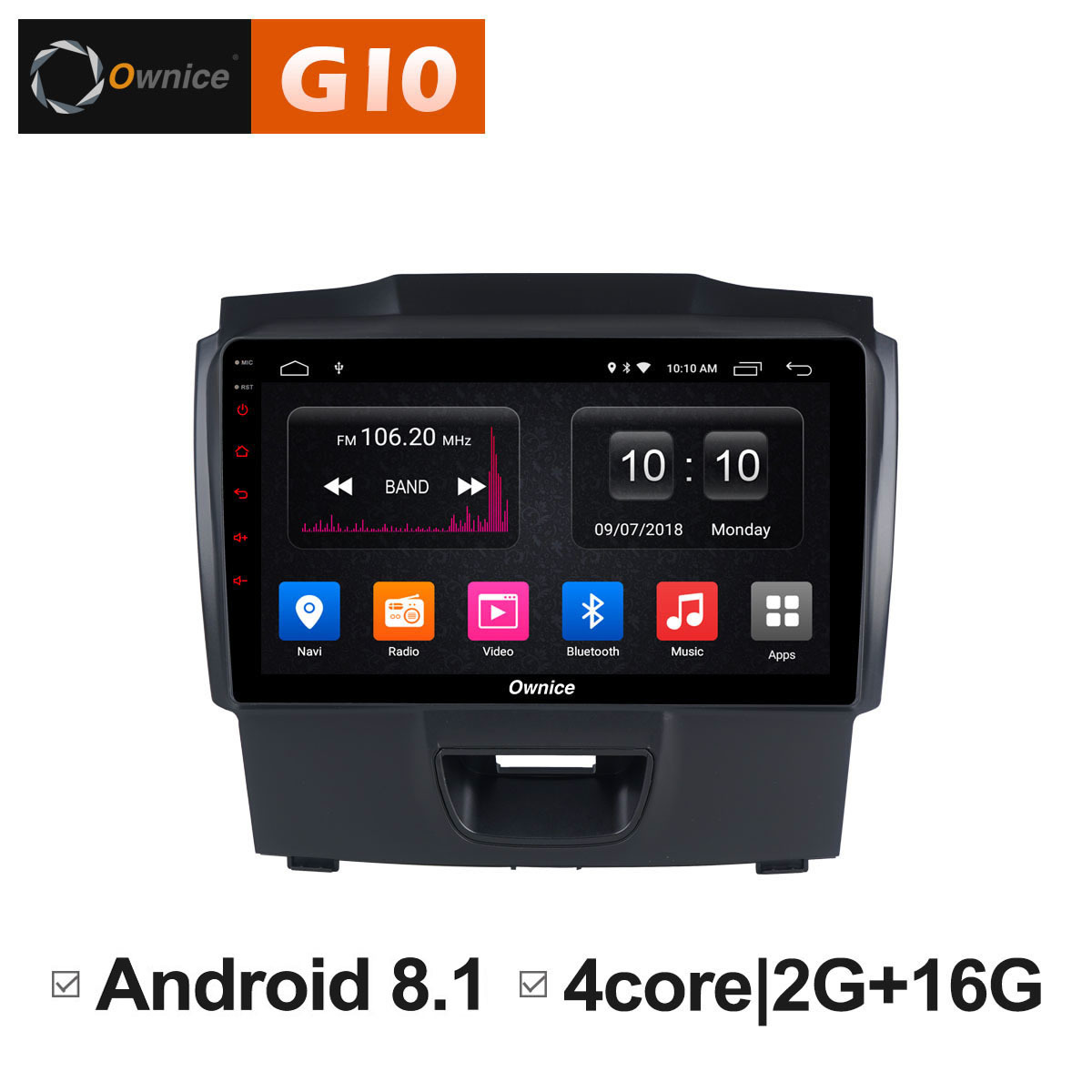 for Chevrolet Trailblazer Colorado S10 Isuzu D-max MU-X Car Android 8.1 Car DVD Stereo Radio Multimedia Player GPS Navigator PC цена
