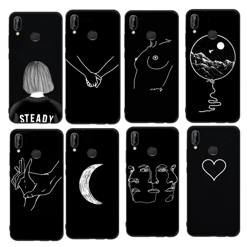 Steady Slim Cover For Huawei P Smart Huawei P Smart Cases, Covers & Skins Phone Shell Tpu Back Plain Case