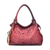 Hot Brand 2018 Women Messenger Bags Beautiful Women Handbag Fashion Printing Flowers Bag Sweet Women Bag