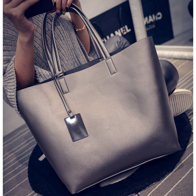 Women Casual Fashion Handbag Satchel High Quality Composite Shoulder Bag Ladies Large Capacity Travel Shopping Package Tote